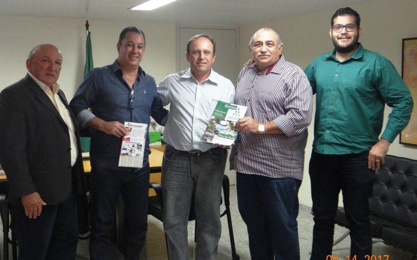 SINTRACOOP – MN E NOVA CENTRAL FAZEM VISITA DE CORTESIA AO SUPERINTENDENTE REGIONAL DO MTE-PB